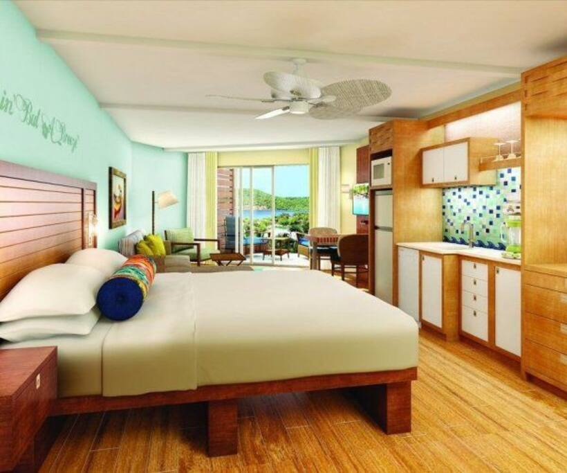 Studio Kitchen At Wyndham St Thomas Margaritaville Resorts For Rent In East End St Thomas U