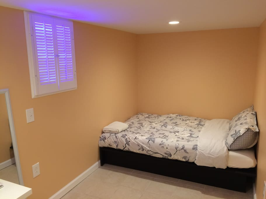 your very cozy and modern bedroom
