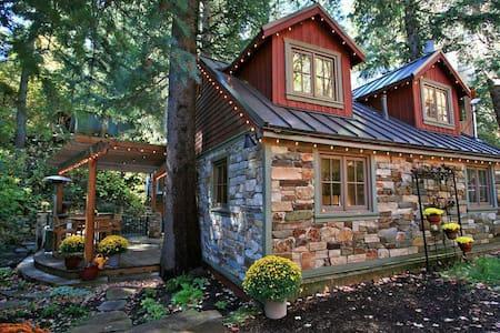 Storybook Stone Cottage - Sundance - 小木屋
