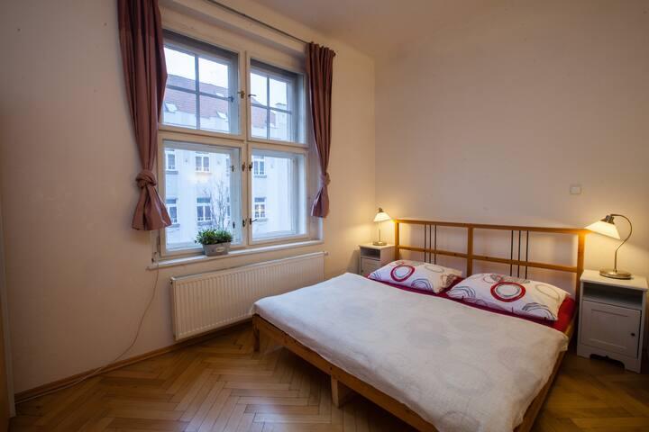 Red Apartment near Prague Castle