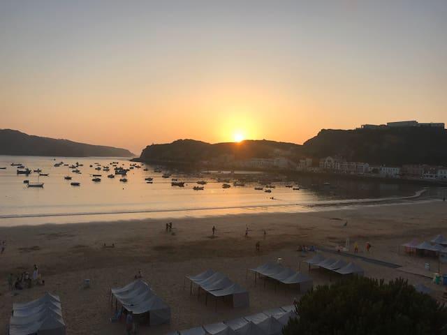 Fantástica vista para a Baía de São Martinho