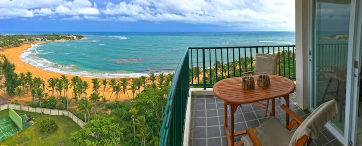 The best beachfront view in Luquillo