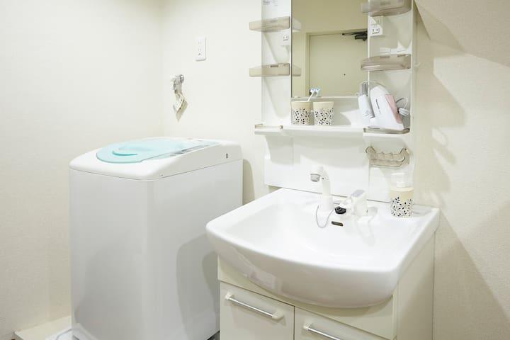 Washroom and Washing machine
