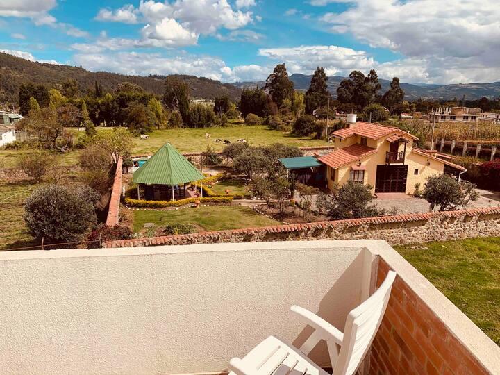 Cabaña Villa Nueva  (en la Vereda la Trinidad)