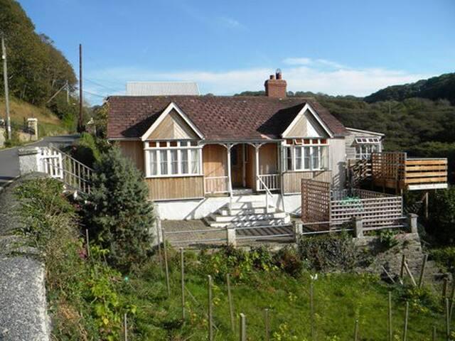 Banc-yr-Haul Holiday Cottage, Llangrannog - Aber-banc - Bungalow