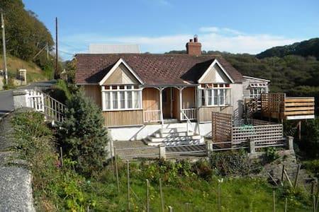 Banc-yr-Haul Holiday Cottage, Llangrannog - Aber-banc