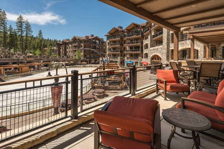 Luxury 4-bedroom steps to skiing - Truckee - Társasház