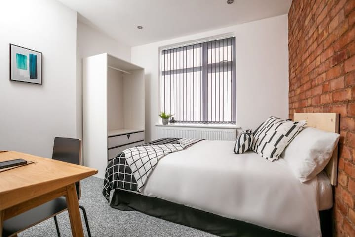 Modern property located in Leicester