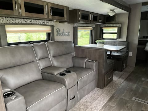"""The Dove at Jubilee Farms  """"Luxury Camping"""""""