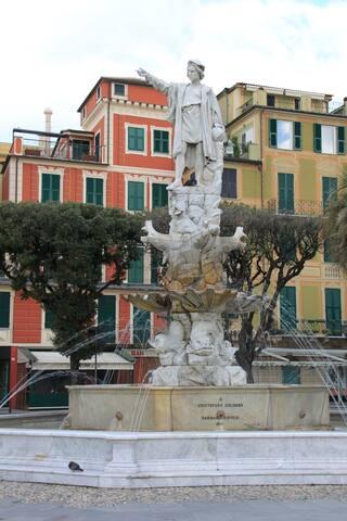 Christopher Columbus Fountain