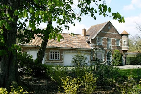 Castle Cottage near Medieval Bruges - Oostkamp - House