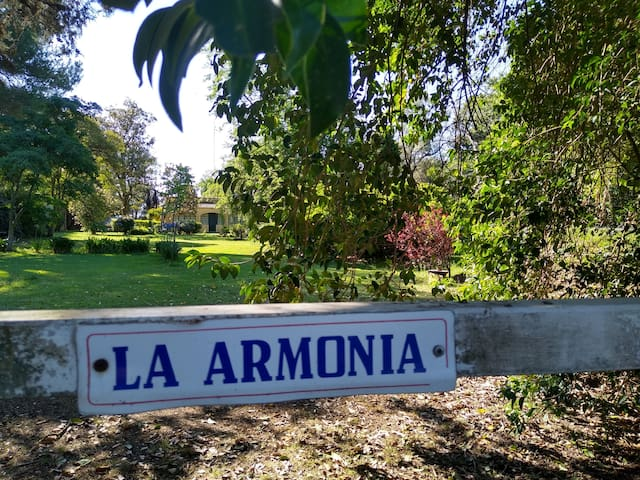 """""""La Armonía""""  Lugar Ideal de Descanso y Naturaleza"""