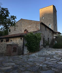 Torre Di Cancelli-historic luxury villa in Chianti