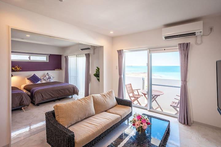 【スイート】よなばるの海岸近くに新規オープン!wifi・駐車場・洗濯機・乾燥機を全室完備!