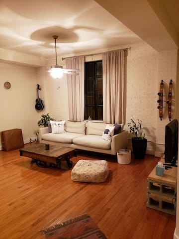 Simple, clean apartment in the heart of the city