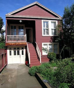 Lovely 1910 house+free parking - San Francisco - Blockhütte