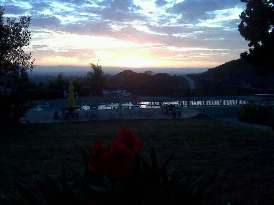 Sunset Ocean View.