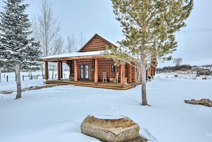 2BR+Loft Coalville Home w/Stunning Mountain Views!