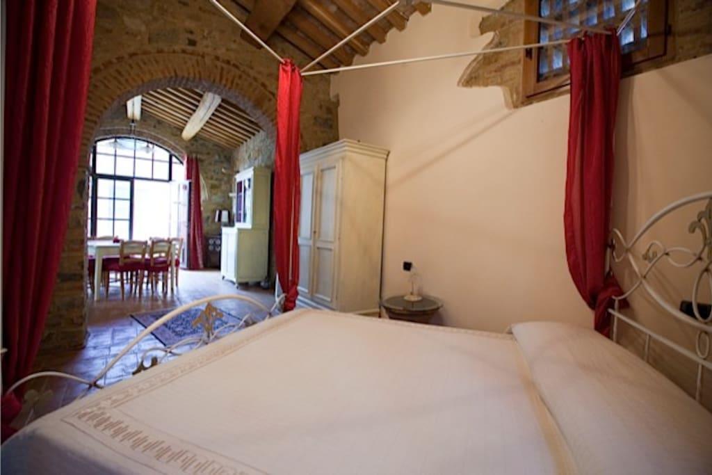 the open dbl bedroom