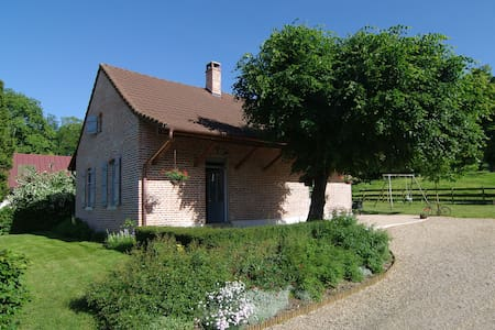 Charming vacation house in Burgundy - Pierre-de-Bresse - Huis