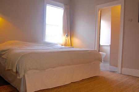 Lavender Room, Downtown—Kingsize, private bathroom - Charleston