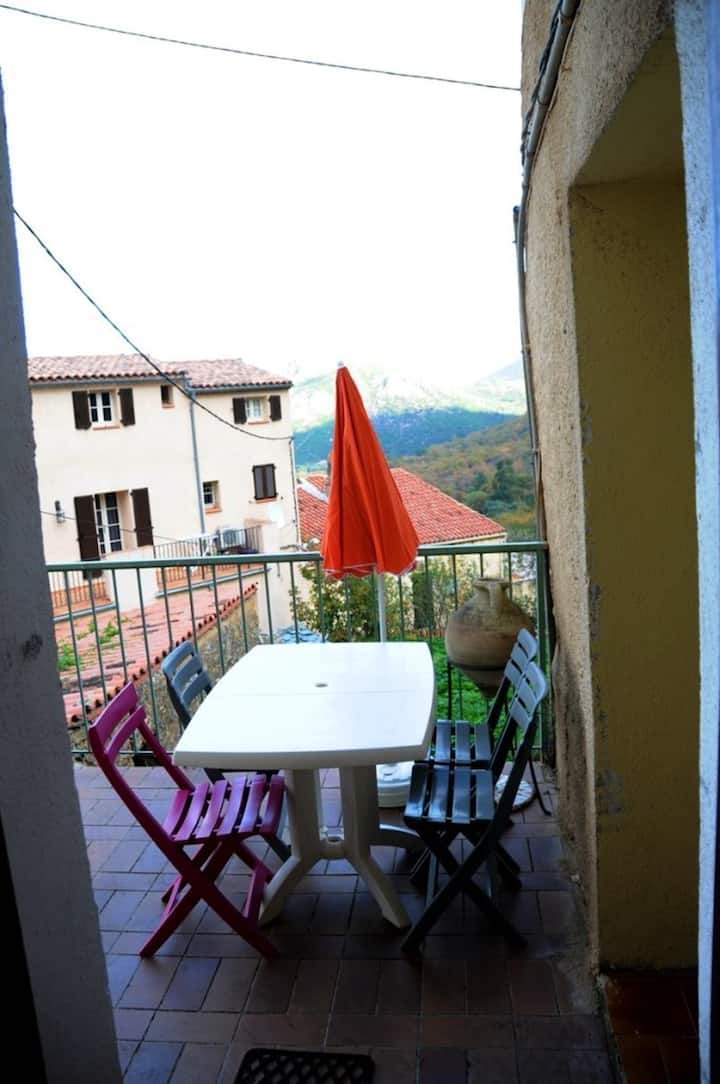Apartment with 2 bedrooms in Muro, with wonderful sea view and furnished terrace