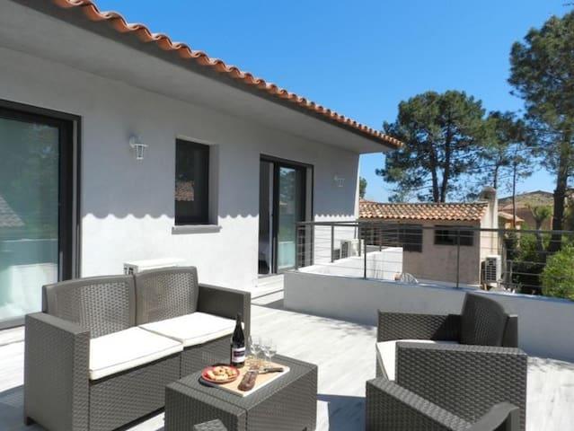 Villa 8 pers. à 2 mn de la plage de St Cyprien