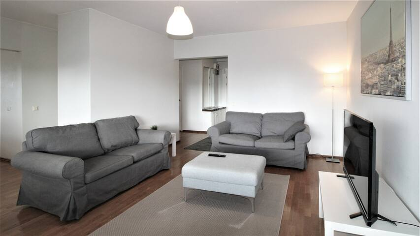Forenom three room apartment in the center of Pori