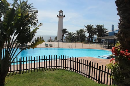 Apartment beach front,playa del agu - Maspalomas