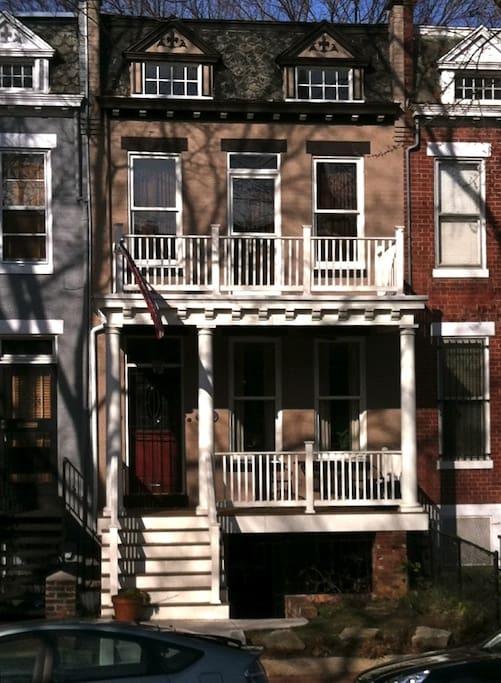 Porchfront home