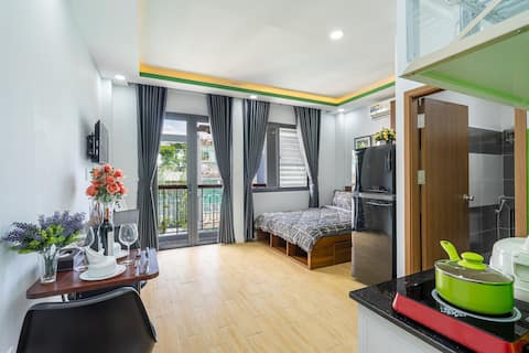 WOW! Attracted to SaiGonese Apartment#Nice Balcony