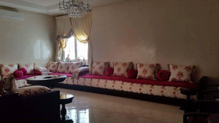 Linda piso marroquí en pleno centro de kenitra - Kénitra - Dormitori compartit