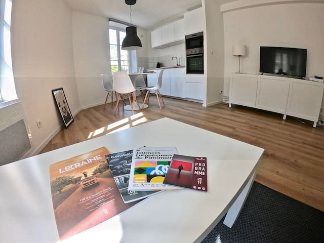 Lumineux appartement dans le centre de Metz