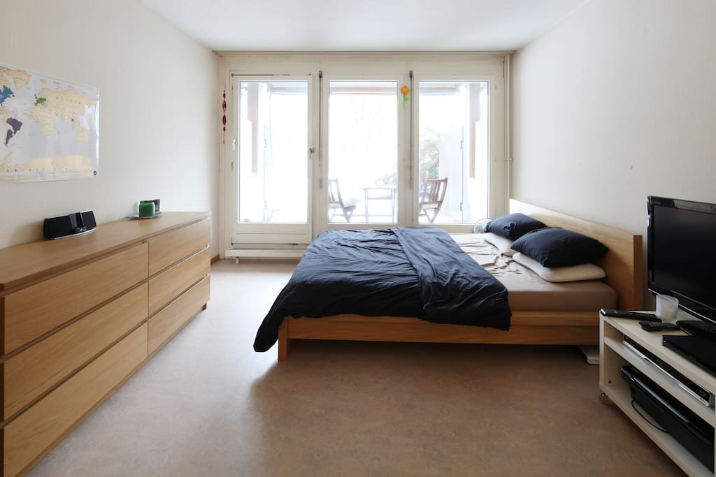 Cosy one room studio with terrace flats for rent in for Terrace zurich