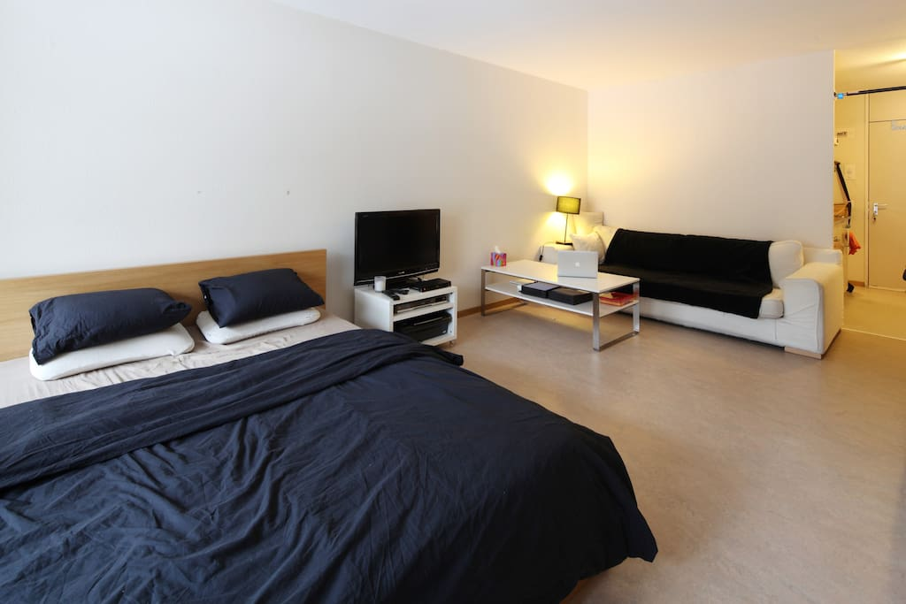 Cosy one room studio with terrace apartments for rent in for Terrace zurich
