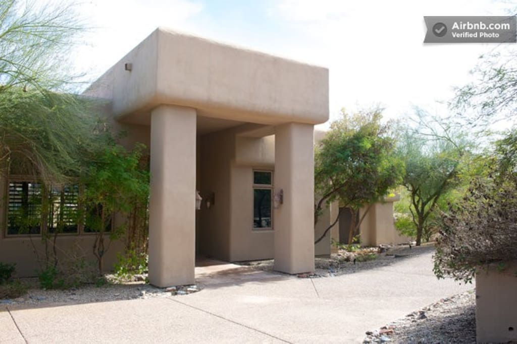 Located in the most private, secluded , exclusive neighborhood- just 12 minutes from sky harbor airport