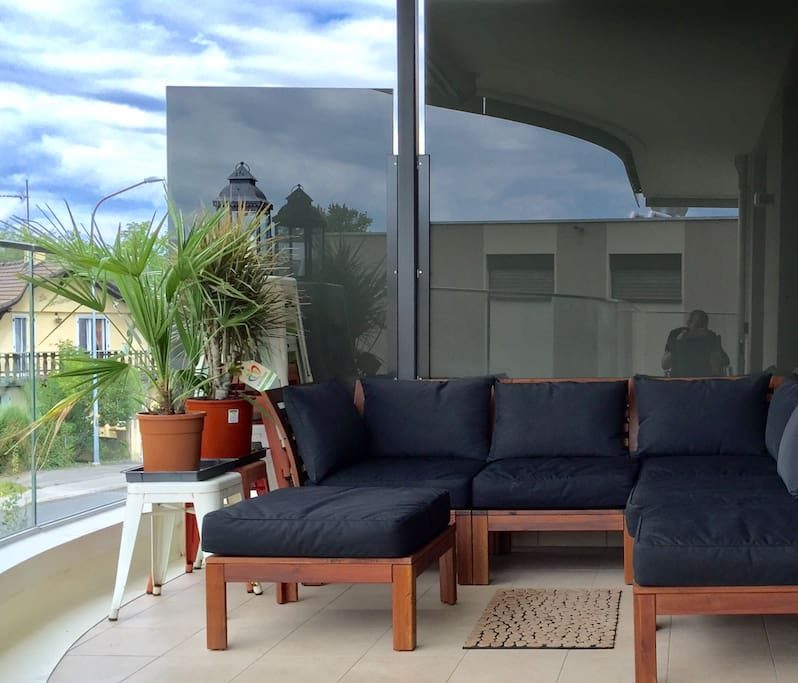 Outside Balcony Sofa