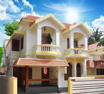 Private, Twin bed, En suited room - Ernakulam
