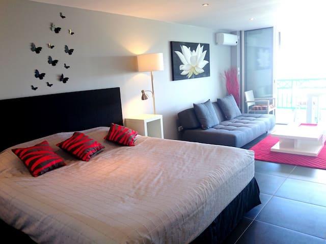 BEAU STUDIO RENOVE AVEC VUE DEGAGEE - Mont Vernon - Appartamento