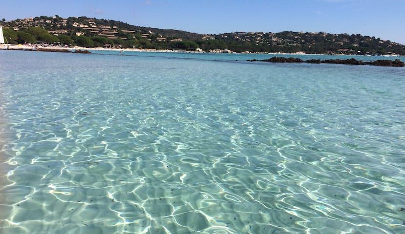 Mini Villa Vue mer, 5mn à pied Baie Santa Giulia - Porto-Vecchio - Villa