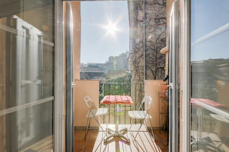 NEAR IT ALL COSY APARTMENT ⭐QUIET TERRACE ⭐