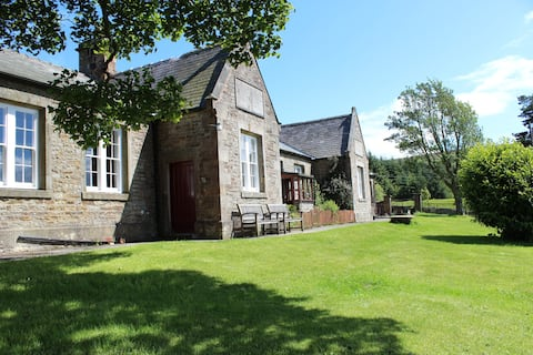 Great family location in rural Northumberland