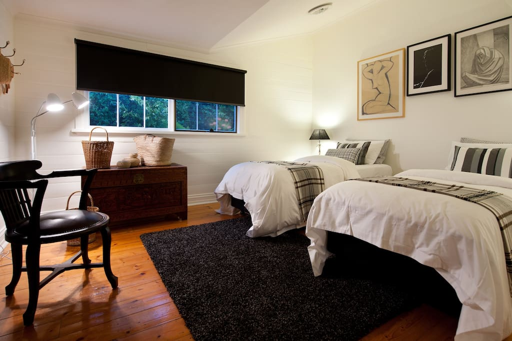 Beds can be arranged as kings or as king single beds