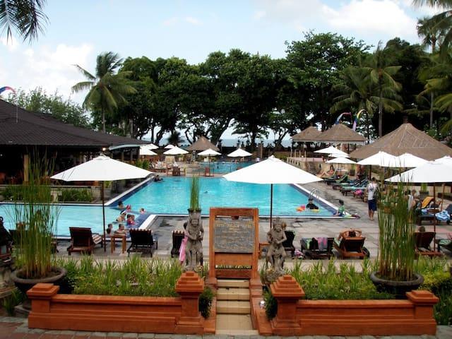 Sharing Swimming Pool
