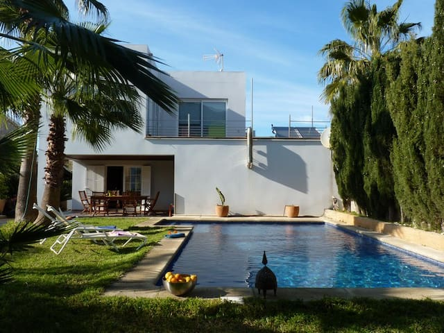 Holiday chalet rental with pool / W - Colonia de Sant Pere - House