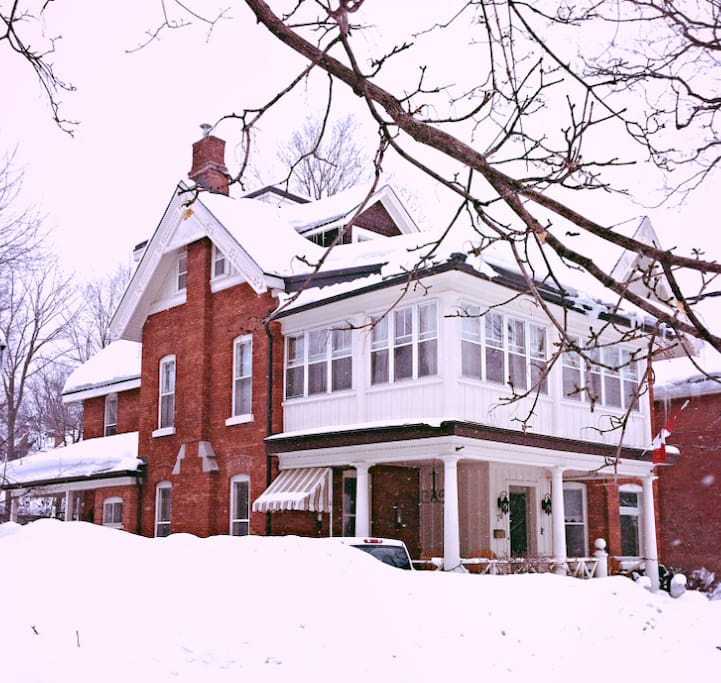 Updated 6 bedroom Victorian built in 1880 located in the centre of charming Orillia