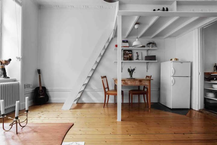 Charming apartment in the heart of Stockholm