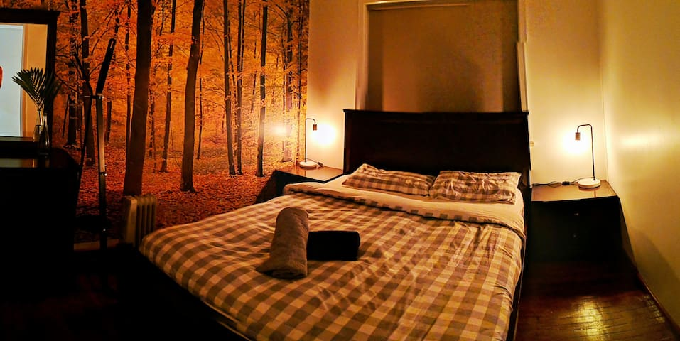 Double room close to city &airport