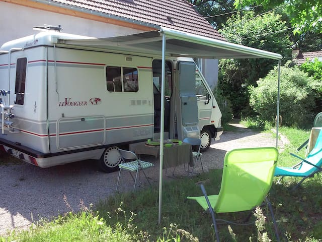 Mon Camping Car a la campagne - Anjoutey - Trailer