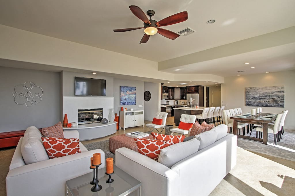 You'll feel right at home when you stay at this phenomenal Palm Desert vacation rental home!